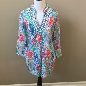 Lilly Pulitzer Let Minnow Tunic